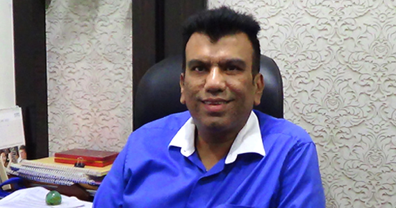 Mr. Sachin Mirani - Director of The Squarefeet Group