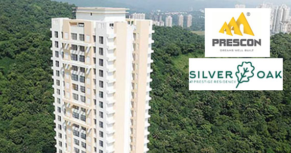 Silver Oak 2, 3 BHK in  Waghbali Naka Ghodbunder Road Thane